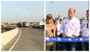 Línea Amarilla: inauguran viaducto de Zarumilla y peaje costará S/ 5.70