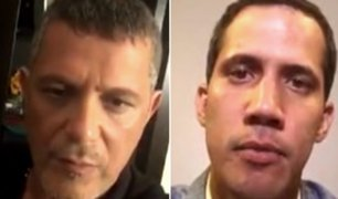 Instagram: Alejandro Sanz entrevista virtualmente a Juan Guaidó