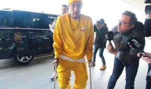 VIDEO: Neymar respondió de forma grosera a periodista