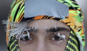 Estados Unidos: se registra ola polar de 50 grados bajo cero