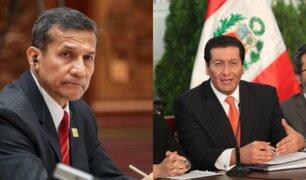 Humala lamentó involucración de su exministro en coima millonaria
