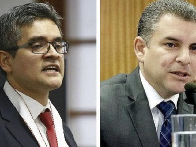 Rafael Vela y José Domingo Pérez apelarán la remoción del equipo Lava Jato