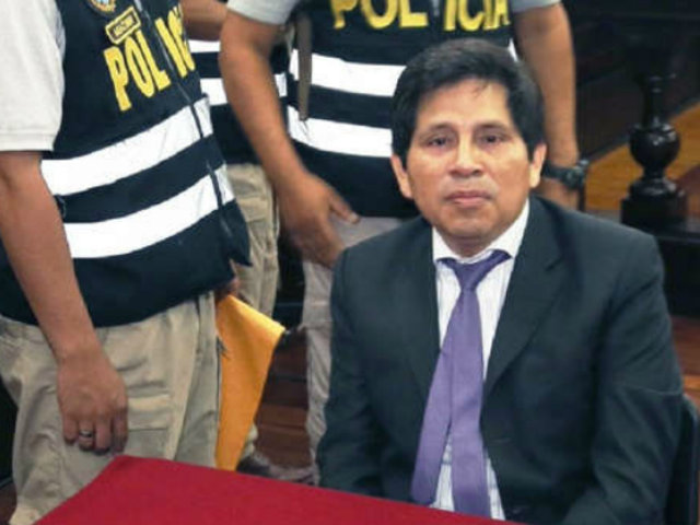 Poder Judicial prolongó en seis meses prisión preventiva contra fiscal Abel Concha
