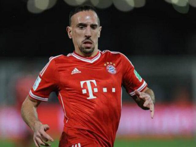 Franck Ribéry gastó más de mil euros en filete bañado en oro