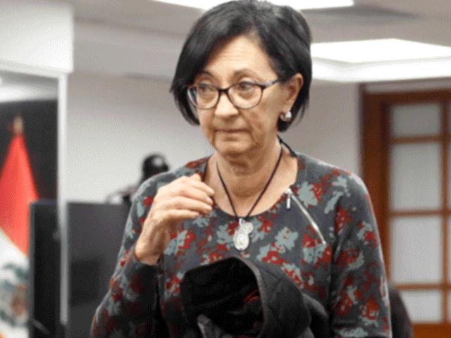 Ana Herz salió en libertad tras anularse su prisión preventiva