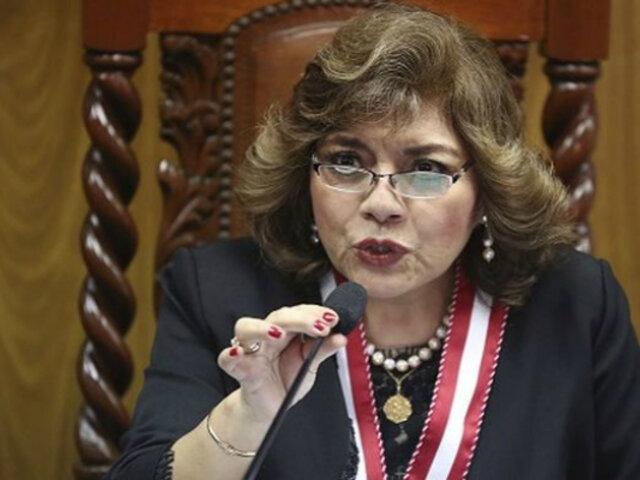 Zoraida Ávalos: no voy a entrometerme en las investigaciones en curso