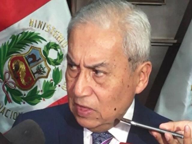 Poder Judicial admite a trámite pedido para suspender a fiscal Chávarry