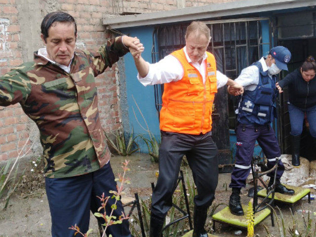 Aniego en SJL: Alcalde de Lima solicita a ministro Morán mayor cantidad de policías