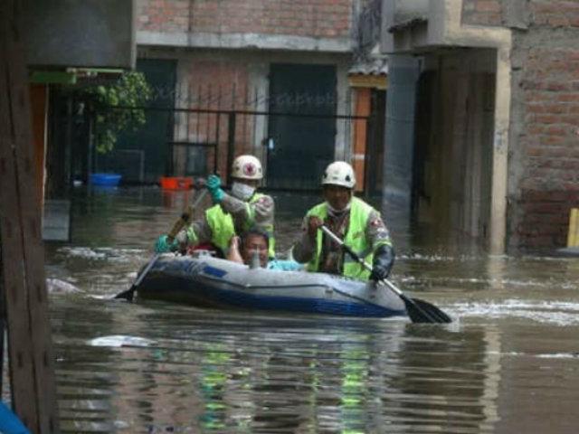 Aniego en SJL: Gobierno declara emergencia ambiental en zona afectada