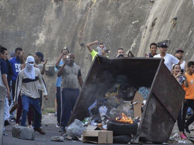 Venezuela: Un muerto y 13 heridos dejó jornada de protestas en Caracas este lunes