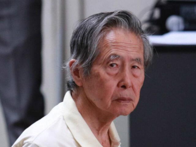 INPE dispone que Alberto Fujimori sea recluido en Barbadillo