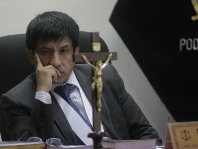 Alejandro Toledo: Poder Judicial dejó al voto recusación contra juez Concepción