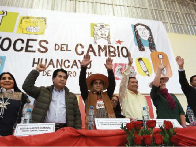 Huancayo: grupos de izquierda se reunieron en encuentro por la presidencia del 2021