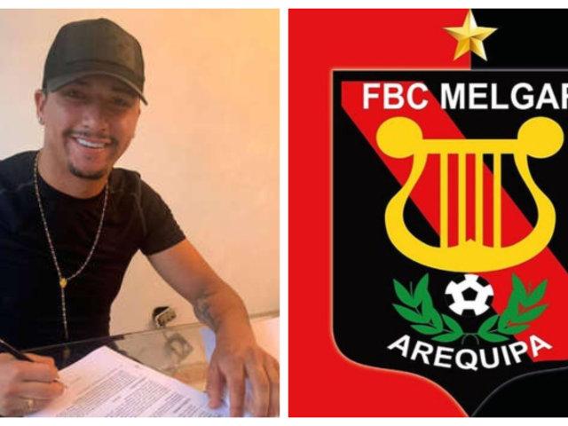 Hernán Hinostroza es el nuevo jugador del FBC Melgar por todo el 2019
