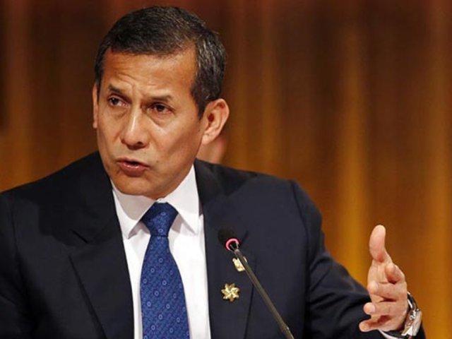 Humala tras rechazo de vacancia: Decisión permite seguir atendiendo temas urgentes