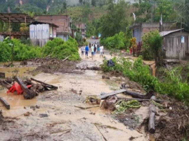 Indeci: Más de 424 escenarios de riesgo existen en Perú