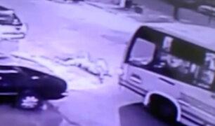 La Victoria: Hombre de 63 años fue arrollado por bus que tiene 17 papeletas
