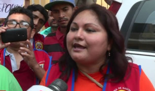 Surco: Mototaxistas protestan y piden que los dejen circular