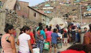 SJL: tras aniego familias pagan hasta 100% más por agua potable