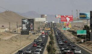 Panamericana Sur: estos son los horarios para evitar tráfico por retorno de veraneantes