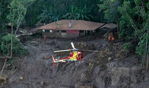 Brasil: nuevas imágenes revelan colapso de represa con residuos tóxicos mineros