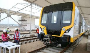 Primer tramo de la Línea 2 del Metro de Lima estará lista el próximo año