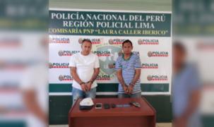 Capturan a presuntos delincuentes que perpetuaban robos al paso a bordo de mototaxi
