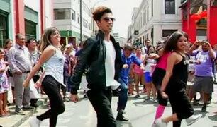 Así se vive la fiebre musical al ritmo de Fortnite en las calles de Lima