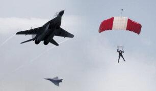 Por sus 100 años, la Fuerza Aérea realizó demostración de sus capacidades operacionales