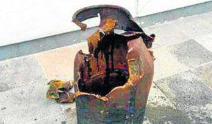 La Oroya: balón de gas explosiona dentro de vivienda y deja un herido
