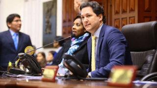 Congresista denunciado por acoso sería desaforado, dice Salaverry