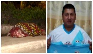 Comas: hombre es asesinado a balazos en plena vía pública