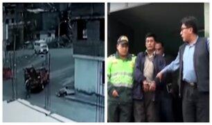 Arequipa: capturan a conductor que se dio a la fuga tras atropellar a anciano