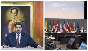 """Exigencias del Grupo de Lima """"dan ganas de vomitar y reír a la vez"""", asegura Maduro"""