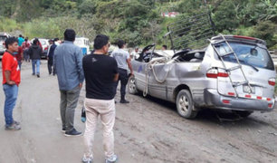 Desprendimiento de rocas en ruta alterna a Machu Picchu deja dos muertos