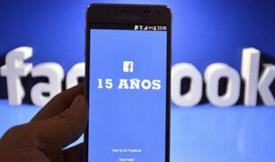 Facebook cumple 15 años con más de 2.300 millones de usuarios