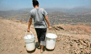 Distritos limeños duplican consumo de agua pese a lo recomendado por la OMS