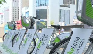 Desde junio se podrán usar bicicletas públicas en San Isidro y Miraflores