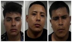 """SJM: capturan a miembros de peligrosa banda """"Los Malditos del Sur"""""""