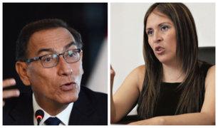 "Yeni Vilcatoma: ""Si algo me sucede será responsabilidad de Vizcarra"""