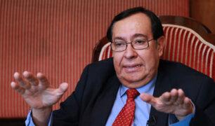"""Prado Saldarriaga: magistrados cuestionados se estarían """"recomponiendo al interior del país"""""""