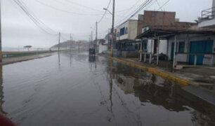 Barranca: Torrenciales lluvias dejan viviendas a punto de colapsar