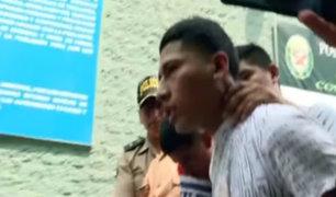 Delincuente pide que se respeten sus derechos tras ser capturado