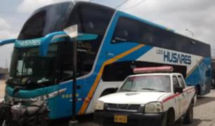La Libertad: Detienen a policía que mató a copiloto de bus tras confundirlo con asaltante