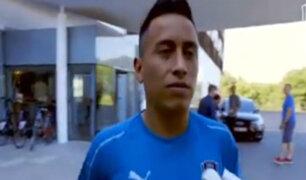Christian Cueva firmó por Santos FC y mandó este saludo
