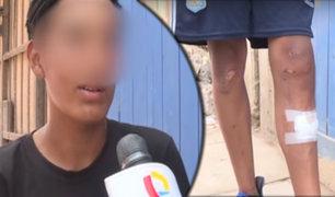 Ambulante denunció haber sido agredido por fiscalizadores de Surco