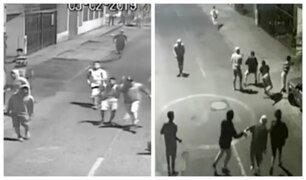 SJM: barristas desatan pánico entre vecinos de Av. Pedro de Pasco
