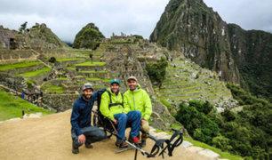 [VIDEO] Implementan primer recorrido en silla de ruedas en Machu Picchu