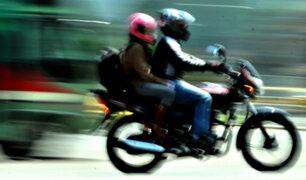 Alcalde de Miraflores sustentó proyecto de ley sobre prohibición de motos con acompañantes