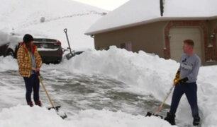 EEUU: Nieve superó los 60 centímetros en Utah